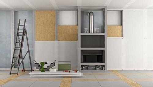 Colocación de Pladur en techos